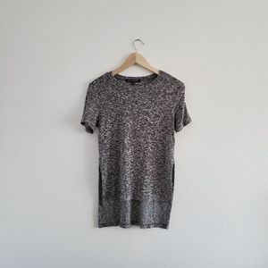 One Clothing Peppered Gray Soft Blouse